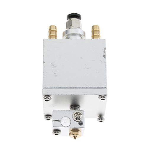 Shiwaki 1set 1.75mm Water-cooled Hotend 0.4mm Single Extruder Head For 3D Printer