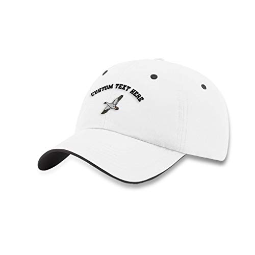 Custom Richardson Soft Running Hat Snow Goose Embroidery Polyester Waterproof Baseball Cap Strap Closure White Charcoal Personalized Text Here