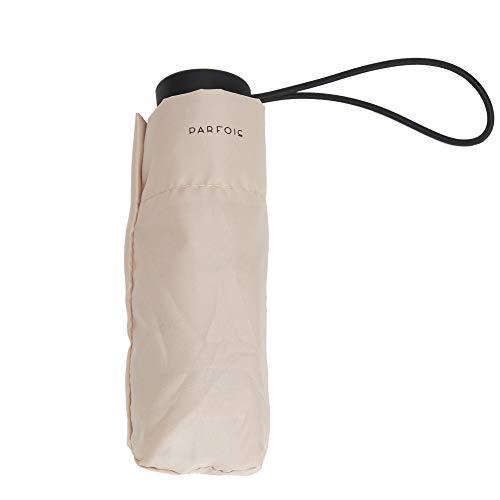 Parfois - Paraguas Plegable Básico - Mujeres - Tallas S - Beige 1