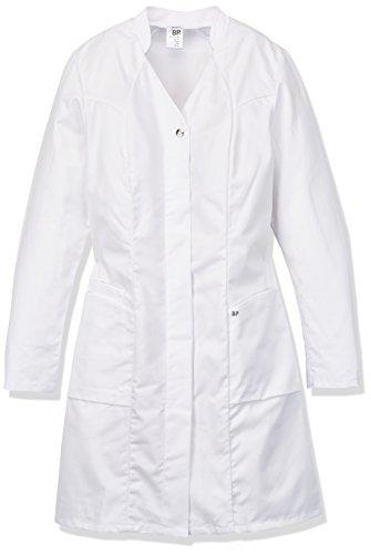 NeoLab 4-1576 werkmantel voor dames, getailleerd, 100 procent CO, maat 38, wit