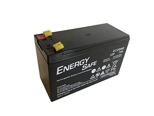 Batteria AGM ENERGY SAFE 12V 7Ah