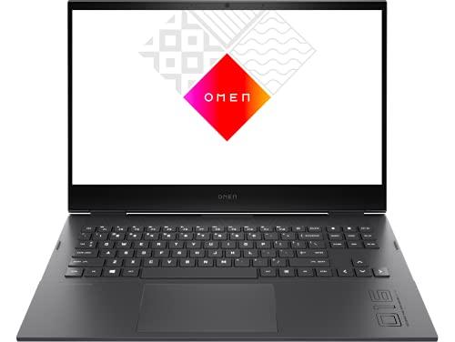 HP OMEN by HP 16-b0025ns - Ordenador portátil de 16.1' Full HD (Intel Core i5-11400H, 16GB RAM, 512GB SSD, NVIDIA GeForce RTX 3060, FreeDOS) Black - Teclado QWERTY Español