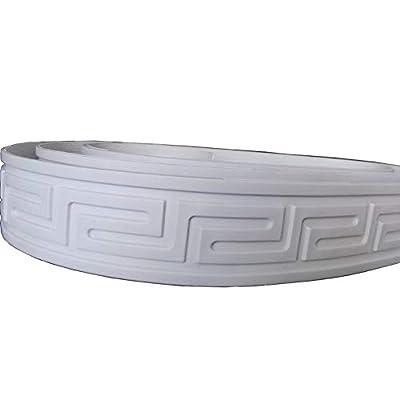 "Flexible Furninture Door Mouldings Trim Home Improvement Focal Point Decor Molding 1.97"" x 115"" x 0.1"""