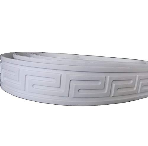 Zhangbl Flexible Furninture Door Crown Mouldings Trim Home Improvement Focal Point Decor -