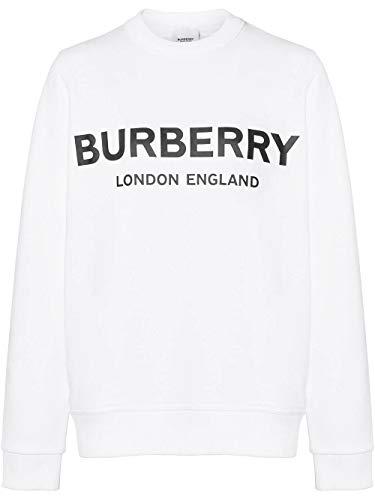 BURBERRY Luxury Fashion Damen 8011443 Weiss Sweatshirt | Jahreszeit Permanent