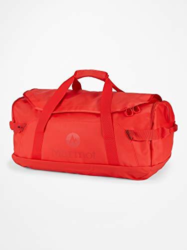 Marmot Long Hauler Duffel Medium Borsa da Viaggio, Robusta Piccola Borsa Sportiva, Weekender, Unisex – Adulto, Victory Red, One