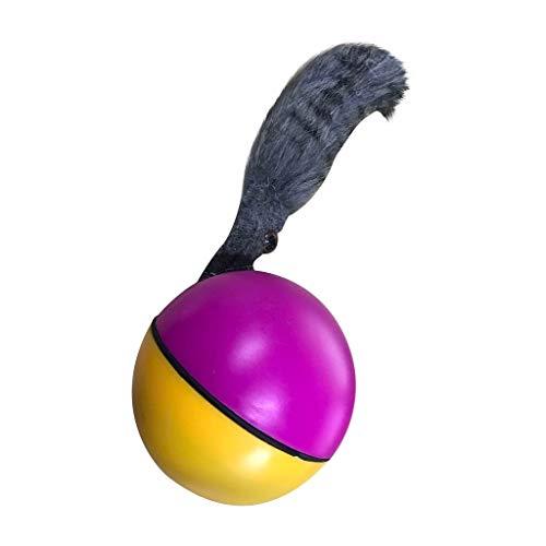 Funny Ball Hundespielzeug Elektrische Wasserdichtes Haustier-Kugel-LED Rollen Mobile Biorhythm Cat Cat Automatische Rollen-Spaß Interactive Spielzeug-Kugel (Style : 2)