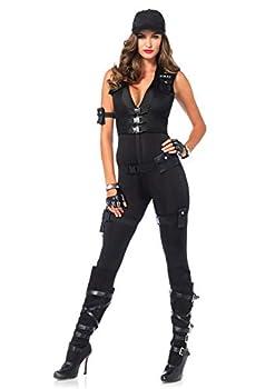 Leg Avenue Women s Deluxe Swat Commander black Small