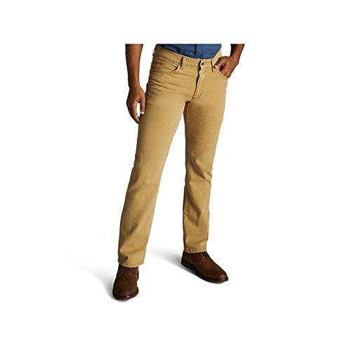 Roebuck & Co. Men's Slim Fit Skinny Straight Leg Jeans - (Mineral Brown, 32W x 34L)