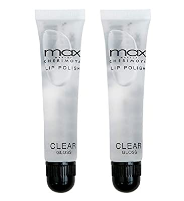 Cherimoya MAX Makeup Clear Lip Polish (2 Pieces)