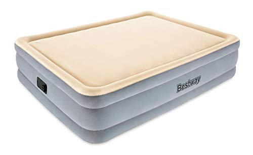 Bestway 67486 - Cama Hinchable Raised Foamtop Comfort (Doble) 203x152x46 cm