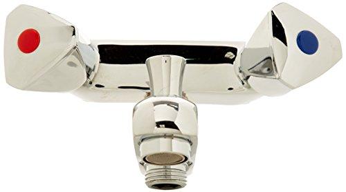 Boutté MBD80 Melangeur bain douche entre axe 80mm chrome 15x21, Argent