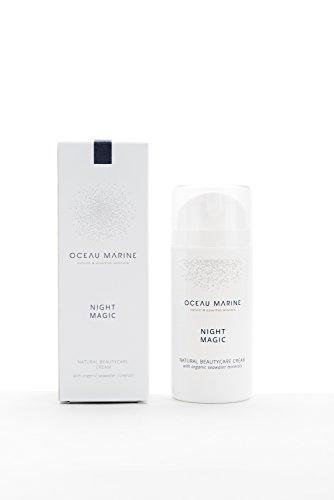 Night Magic Oceau Marine 100mL- Crème naturelle nourrissante pour toutes les peaux même les plus sensible - 100% naturelle - A base d'eau de mer isotonique et de Bourrache