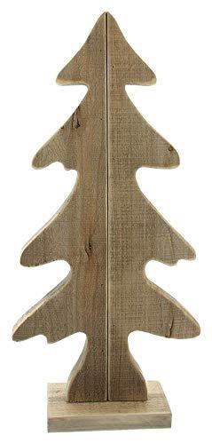 Dekoleidenschaft Tanne aus Treibholz, 64 cm hoch, Holz-Tannenbaum, Deko-Figur, Weihnachtsdekoration