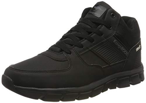 KangaROOS Herren Caspo RTX Hohe Sneaker, Schwarz (Jet Black/Mono 5500), 43 EU