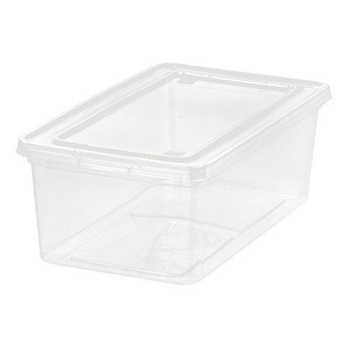 IRIS USA, Inc. CNL-5 transparente Aufbewahrungsbox, 18 Stück