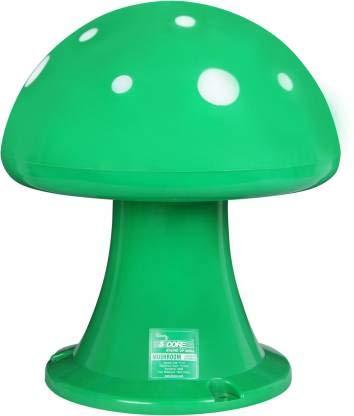 5 Core Outdoor Speakers Used in Garden, Patio, Deck, Pool, Spa, Backyard, Front Yard Outdoor, Indoor, Waterproof, Weatherproof (Mushroom Shape)