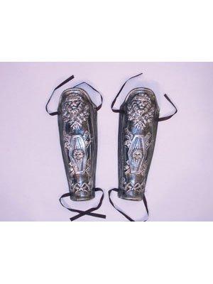 une paire de jambières pour l'argent romain,