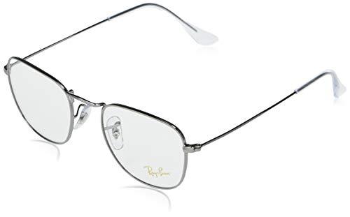Ray-Ban 0rx3857v Gafas, GUNMETAL, 48 Unisex