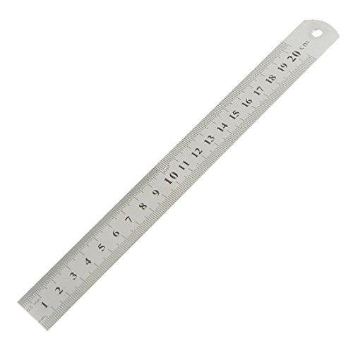 20 cm 20,32 cm doble medidor largo regla de albañil para trabajo a mano
