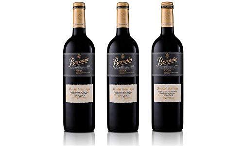 Beronia Viñas Viejas Tempranillo - 3 botellas x 750 ml - Total: 2250 ml
