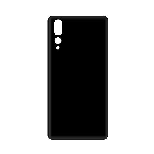 MULU Tapa de Batería reemplazo para Huawei P20 Pro(Negro),Parte Trasera Battery Cover con Kit Reparación.