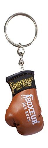 BOXEUR DES RUES Unisex– Erwachsene BX-GK01A Schlüsselanhänger Boxhandschuhe, Braun, U