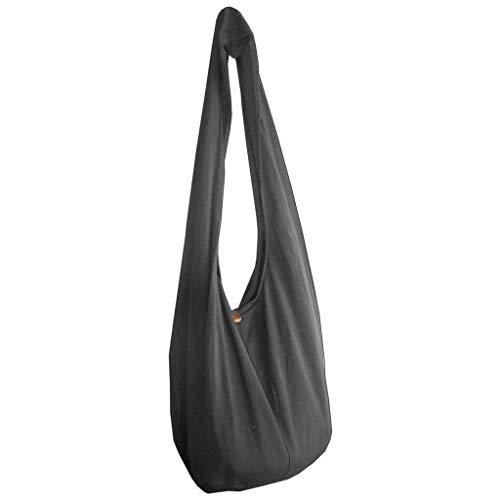PANASIAM Shoulderbag Uni grey L