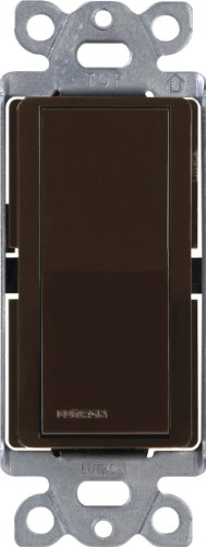 Lutron CA-4PS-BR Claro 15A 4-Way Switch, Brown