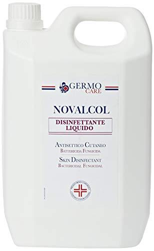Novalcol - Disinfettante Cutaneo Battericida, Pronto all'Uso, Profumato, 1 Flacone da 3 Litri