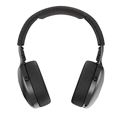 House of Marley Positive Vibration XL Cuffie Wireless, Cuffie Bluetooth Over-Ear Senza Fili, Suono Profondo e Avvolgente, Durata Batteria 24 Ore, Microfono Incorporato e Comandi Volume Integrati, Nero