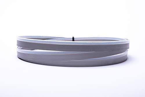 Lama per sega a nastro ad alte prestazioni HM 3720 x 27 x 0,9 mm, 3 denti per pollice, ad esempio per Zagro Z500S, AVOLA BSM500 Ytong
