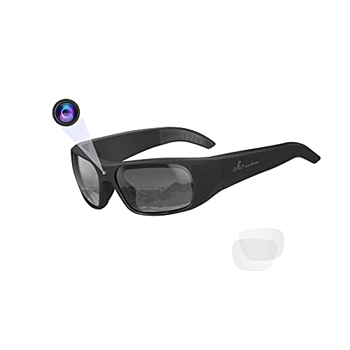 32GB Water Resistance Video Sunglasses,1080 HD Outdoor Sports Action Camera and...