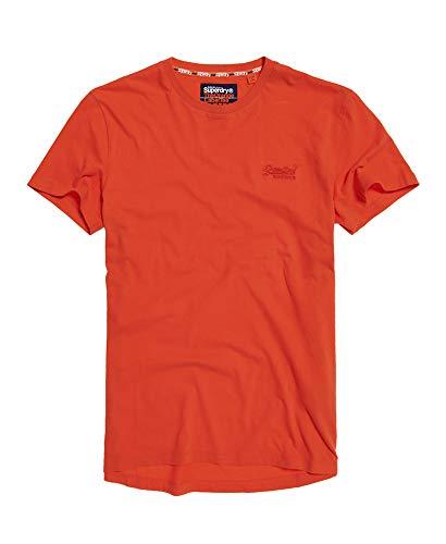 Superdry Orange Label Baseball-T-Shirt für Herren Gr. L, burnt orange