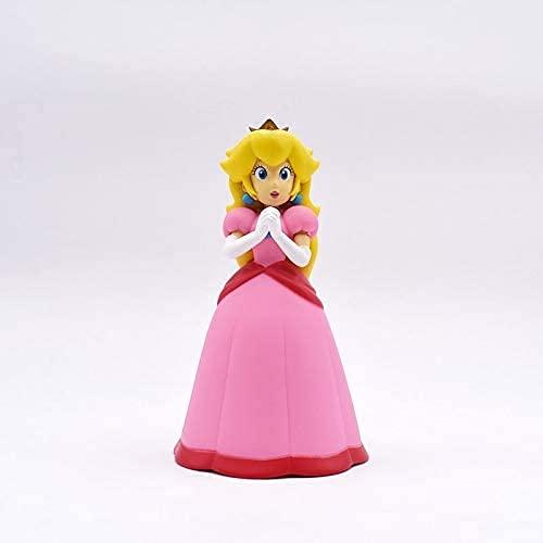 Juguetes De Anime Super Mario Wario Princess Peach-Soft Plush Doll Cute Plush Home Decoration Gift Aproximadamente 14cm