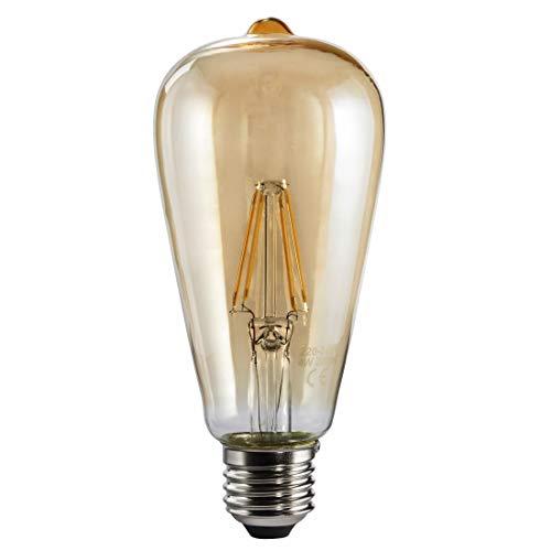 Xavax Ampoule LED, 4W, forme décorative ST64, filament, E27, blanc chaud