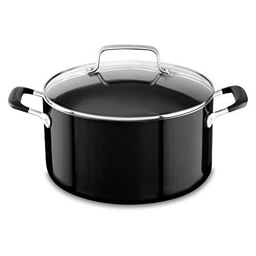 KitchenAid KI908CE Risoteira de Alumínio, Preto (Onyx Black), 5.7L