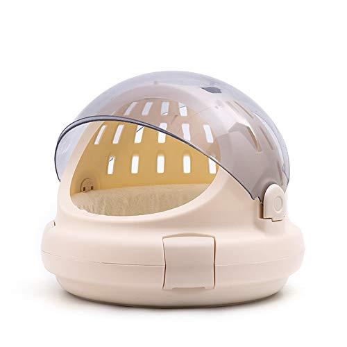 Panorama transparent cat car cat nest out portable space bag multi-functional pet air box (???)
