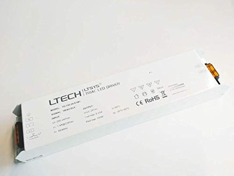 LTECH TD-150-24-E1M1 0.1-100% TRIAC ELV, PUSH-DIM Qualitts-LED-Vorschaltgert Ausgang 24V DC max. 150W