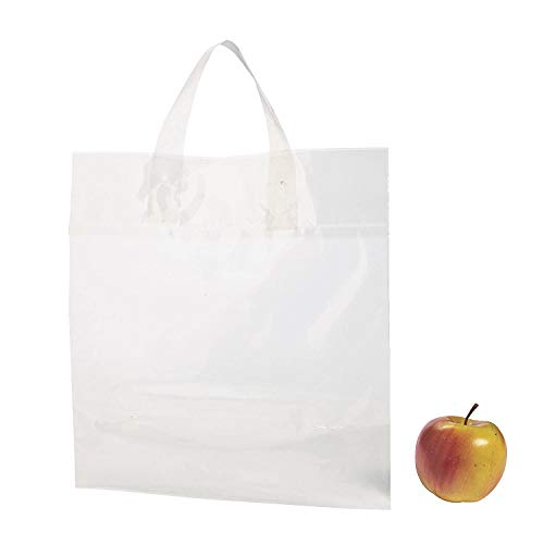 Fun Express Clear Plastic Tote Bags - Apparel Accessories - 24 Pieces