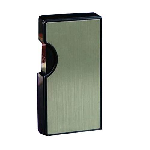 Porta Sigarette Yuan Ou Portasigarette in metallo ultra sottile da 10 sigarette con accendino di...