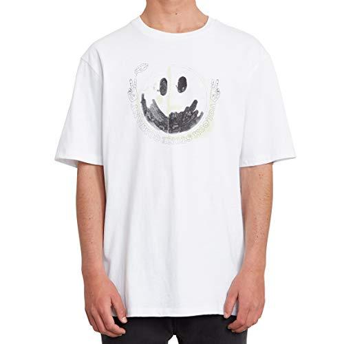 Volcom Herren Fake Smile Bxy Ss Unterhemd, Gold, XS
