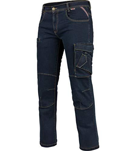 WÜRTH MODYF Arbeitsjeans Multipocket Stretch X blau: Die Bequeme Allwetter Arbeits-Jeanshose ist in der Größe 50 erhältlich. STYLISCH, MODERN, ZEITLOS!