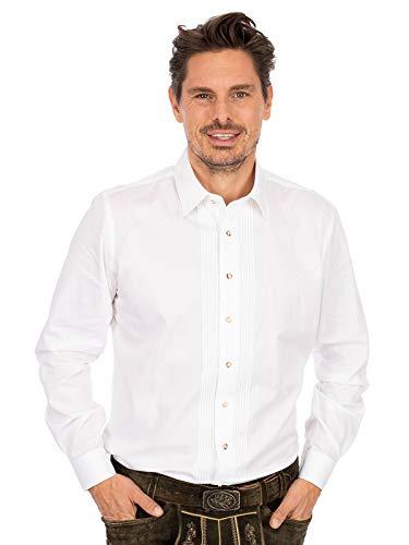 Almsach Hemd Liegenkragen LF182 weiß, XL