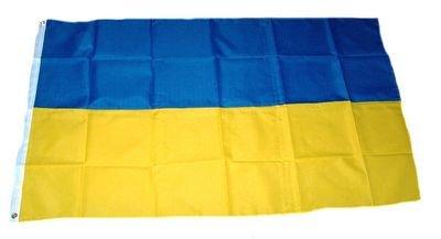 Fahne / Flagge Ukraine NEU 60 x 90 cm Flaggen Fahnen