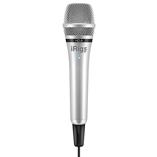 IK Multimedia Mic HD-A iRig microfoon voor Android-apparaten