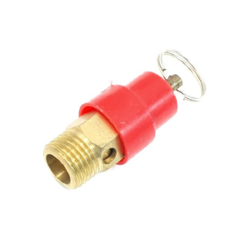 Sourcingmap - 1/4 filo di sicurezza valvola di sicurezza'pt nominale per compressore d'aria