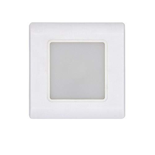 RAQ Led trapverlichting wandlamp vierkant inbouw stappenlamp versnelling lichten voetlicht inbedde wanden verlichting met 0.6W wit