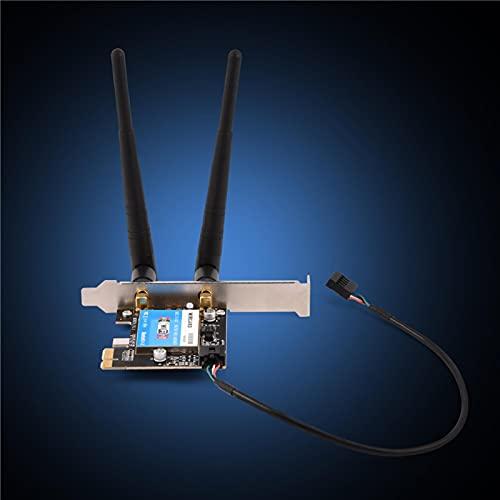 Tarjeta de Red portátil Antena Compatible con Banda Dual Inalámbrico de Alta Velocidad para computadora portátil para computadora portátil
