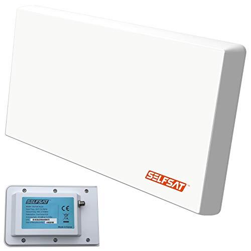SELFSAT H22D+ UHD 4K Single mit Multifunktionshalterung